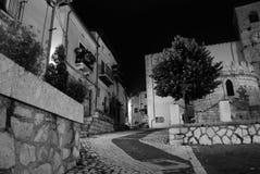 Opi, Abruzzo Un village italien Image stock