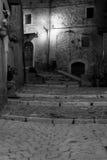 Opi, Abruzzo Un village italien Photographie stock