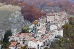 Opi alla sosta nazionale dell'Abruzzo Immagine Stock