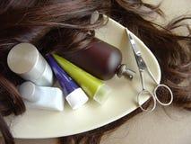 opieka 1 włosy Obraz Royalty Free