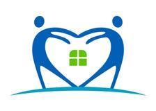 opieka logo Zdjęcia Stock