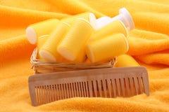 opieka włosy Zdjęcia Royalty Free