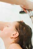 opieka włosy Obrazy Royalty Free