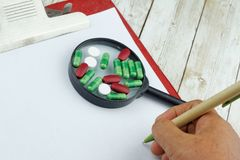 Opieka zdrowotna i Medyczny pojęcie Fotografia Royalty Free