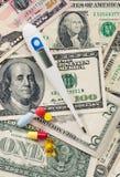 Opieka zdrowotna koszty obraz royalty free
