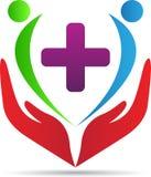 Opieka zdrowotna logo royalty ilustracja