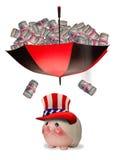 Opieka zdrowotna pieniądze zdjęcia royalty free