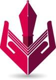Opieki edukaci logo Zdjęcia Royalty Free