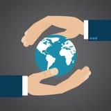 opieki globalny ziemski Fotografia Stock