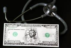 opieki kosztu zdrowie Obraz Royalty Free