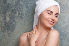 opieki skóry zdroju traktowanie Zdjęcia Royalty Free