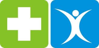 opieki zdrowie logo Obraz Royalty Free
