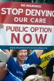 opieki zdrowie protest Zdjęcia Stock