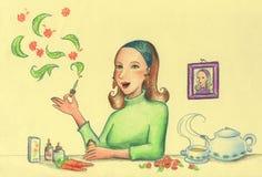 opieki zdrowie ziele ilustracji