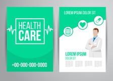 Opieki zdrowotnej broszurka Fotografia Stock