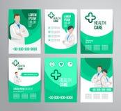 Opieki zdrowotnej broszurka Obraz Stock