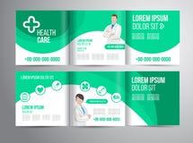 Opieki zdrowotnej broszurka Fotografia Royalty Free