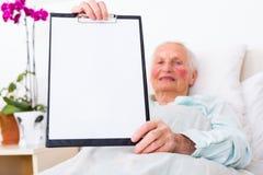 Opieki zdrowotnej copyspace Zdjęcie Stock