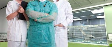 Opieki zdrowotnej drużyna przy szpitalem obraz royalty free