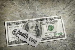 Opieki zdrowotnej gotówka fotografia royalty free
