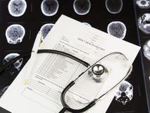 Opieki zdrowotnej historia Obrazy Stock