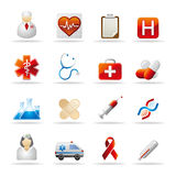 opieki zdrowotnej ikona Obrazy Royalty Free