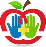 Opieki zdrowotnej jabłko Obraz Stock