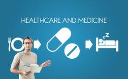 Opieki zdrowotnej medycyny lekarstwa zdrowie Medyczny pojęcie obrazy stock