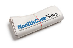 opieki zdrowotnej wiadomość Fotografia Royalty Free