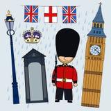 opiekun royalty ilustracja