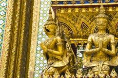 Opiekun przy Szmaragdową Buddha świątynią Zdjęcia Royalty Free