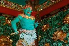 Opiekun przy Yashamon bramą przy Taiyuinbyo świątynią Fotografia Stock