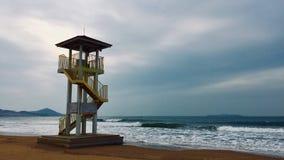 Opiekun wybrzeże zdjęcia stock