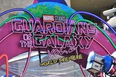Opiekuny galaktyka znak Zdjęcie Royalty Free