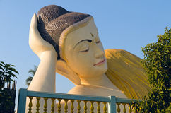 Opierać Buddha Fotografia Royalty Free