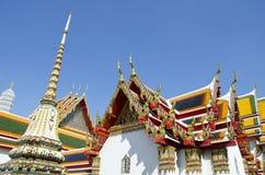Opierający Buddha świątynię (Wat Pho) Fotografia Royalty Free