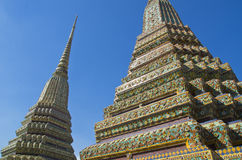 Opierający Buddha świątynię (Wat Pho) Obraz Stock
