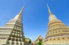 Opierający Buddha świątynię (Wat Pho) Obrazy Royalty Free