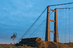 Opiki Bridge Remains Royalty Free Stock Photos
