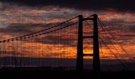 Opiki Bridge Sunrise Royalty Free Stock Photo