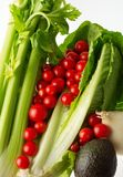 Opinião 1 de legumes frescos imagens de stock royalty free