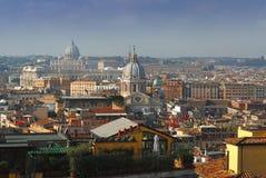 Opinião 1 de Roma foto de stock
