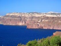 Opinião 1 de Santorini Imagens de Stock
