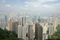 Opinião 2 de Hong Kong Fotografia de Stock Royalty Free