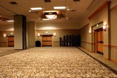 Opinião 2 do salão de baile do hotel Fotografia de Stock
