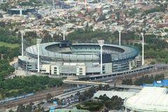 Opinião aérea à terra do grilo de Melbourne, magnetocardiograma Fotos de Stock