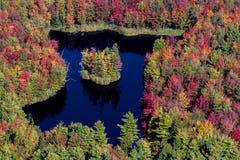 Opinião aérea da paisagem Imagem de Stock