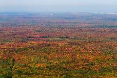 Opinião aérea da paisagem Fotografia de Stock