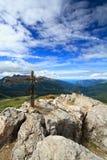 Opinião aérea da passagem de Rolle fotografia de stock royalty free