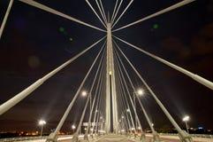 Opinião aérea da skyline - paisagem da cidade Imagem de Stock Royalty Free